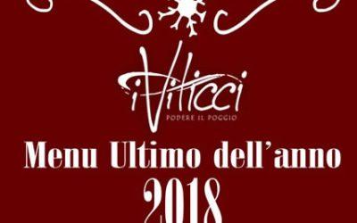 Ultimo dell'anno 2018 a Villa i Viticci